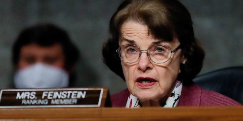 Photo of Sen. Dianne Feinstein