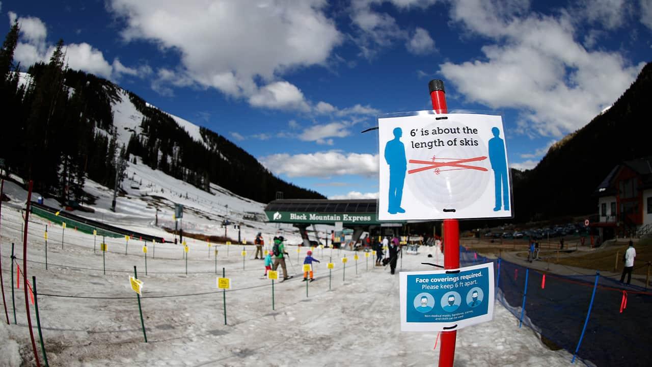 Photo of the Arapahoe Basin Ski Resort