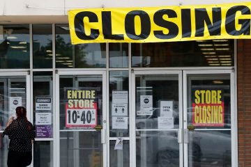 Photo of a closing store