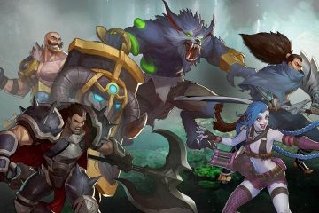 Image from the eSports game League of Legends