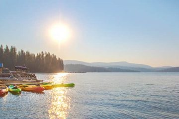Photo of Shaver Lake in Fresno County (California)