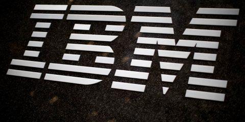Photo of IBM logo