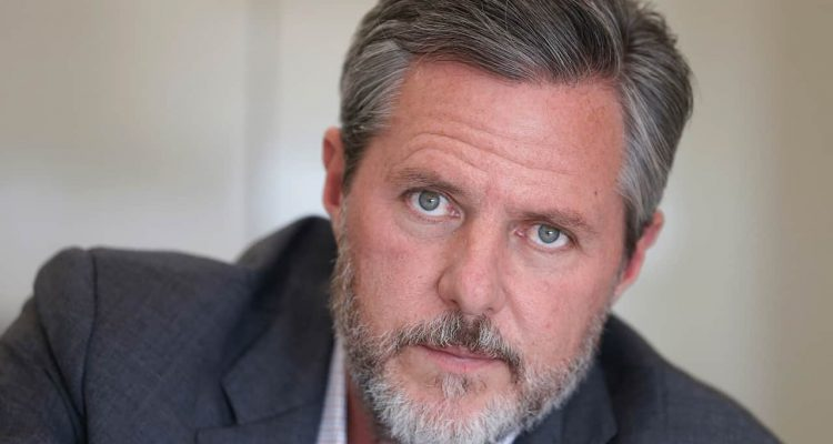 Photo of Liberty University president Jerry Falwell Jr.