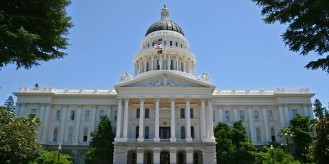 Photo of the California State Capitol