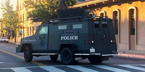 Photo of an armored vehicle