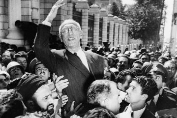 Photo of Prime Minister Mohammad Mosaddegh