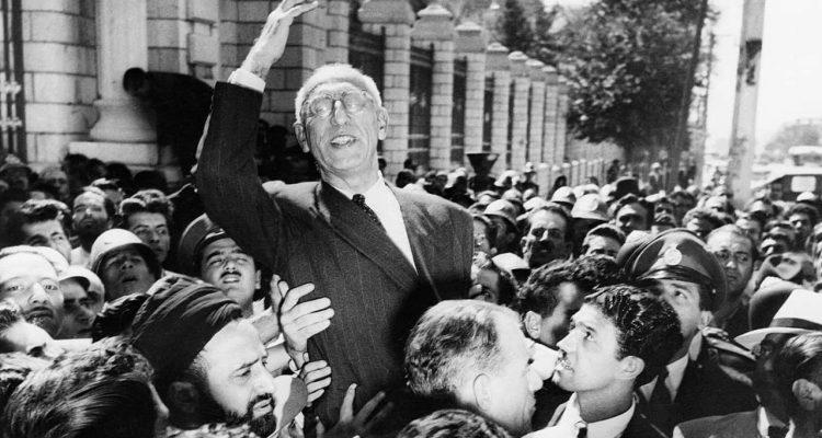 Photo of Prime Minister Mohammad Mosaddegh