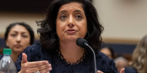 Photo of Farhana Khera, president and executive director of Muslim Advocates
