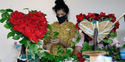 Photo of a florist