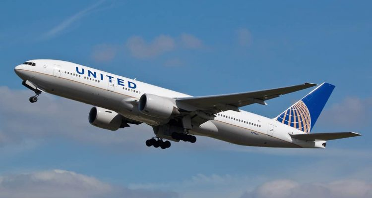Photo of United Airlines plane
