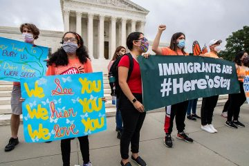 Photo of DACA students