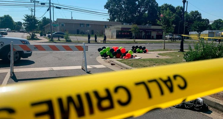 Photo of police tape