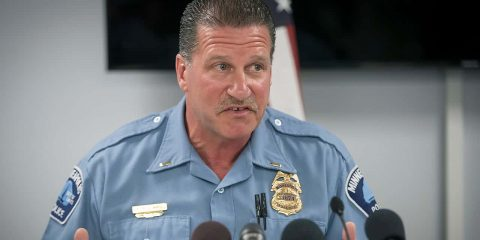 Photo of Minneapolis Police Union President Lt. Bob Kroll