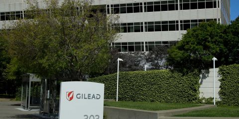 Photo fo Gilead headquarters