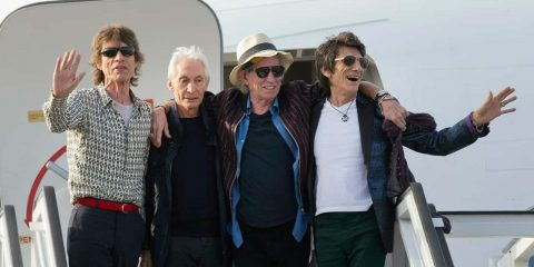 Photo of the Rolling Stones members