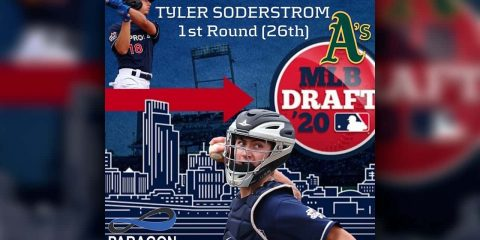 Image of A's first-round pick Tyler Soderstrom
