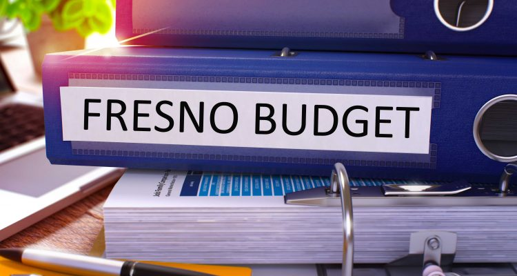 Image of city of Fresno budget binders