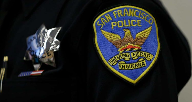 Photo of San Francisco Police Department patch