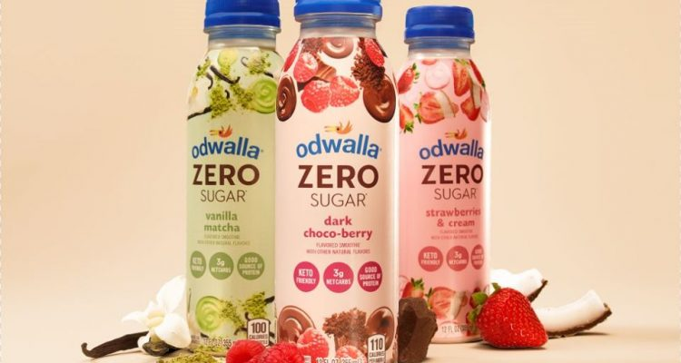 Image of 3 bottles of Odwalla Smoothies