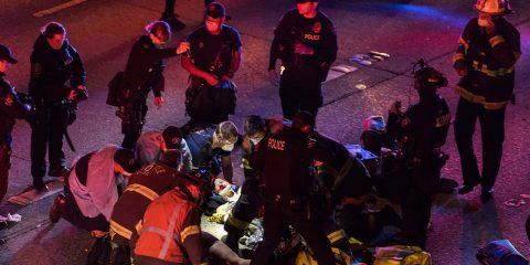 Photo of a crime scene in Seattle