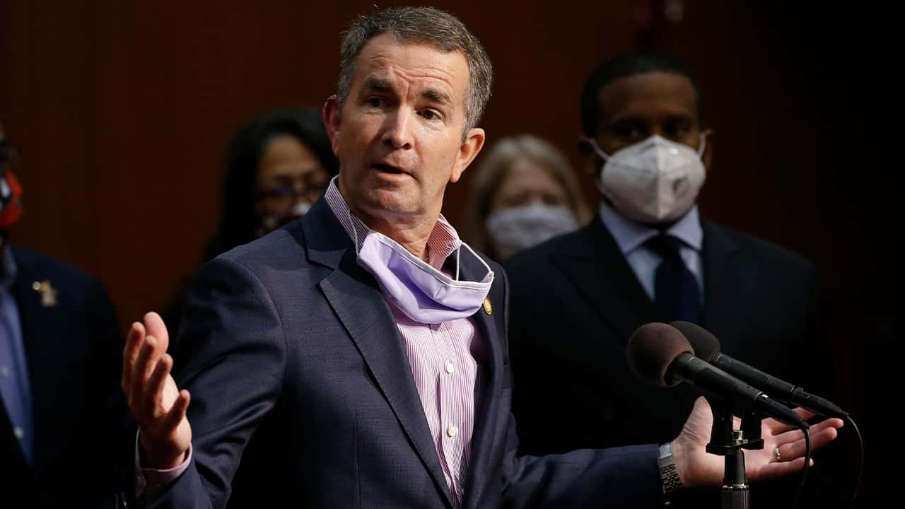 Photo of Gov. Ralph Northam