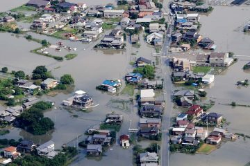 Photo of floods in Japan