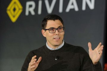 Photo of Rivian Founder and CEO RJ Scaringe
