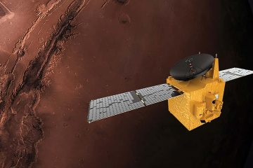Photo of the Hope probe