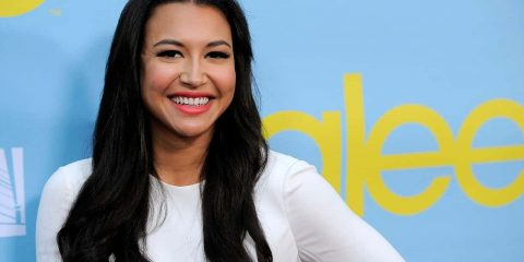 "Photo of Naya Rivera, a cast member in the television series ""Glee,"""