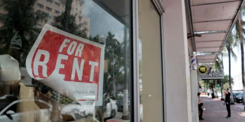 Photo of a for rent sign