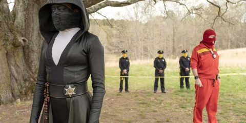 "Photo from a scene from ""Watchmen"""