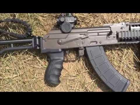 Image of a mini Draco AK 47