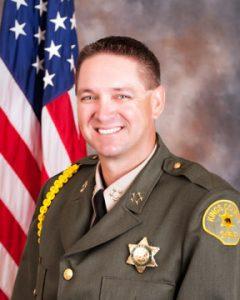 Portrait of Kings County Sheriff David Robinson