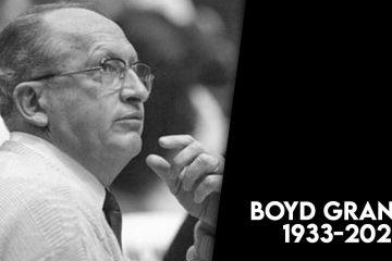 Photo of former Fresno State basketball coach Boyd Grant