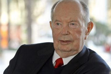 Environmental portrait of the late Jerry Perenchio