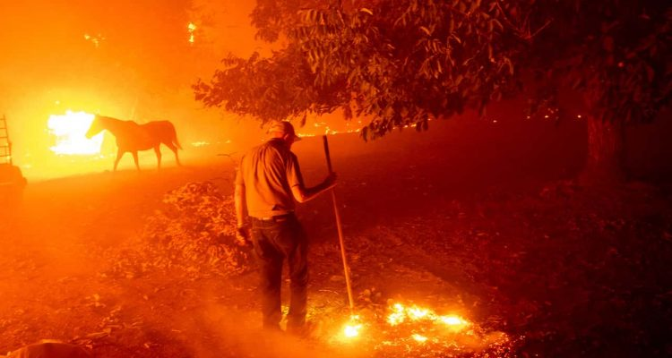 Photo of wildfires