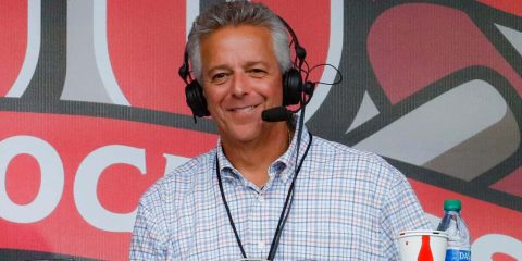 Photo of Cincinnati Reds broadcaster Thom Brennaman