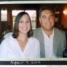 Photo of Laci and Scott Peterson on Facebook from 2002