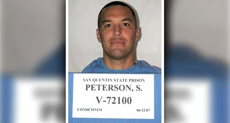 Prison booking photo of Scott Peterson