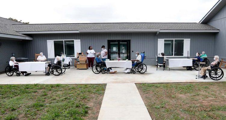 Photo of a nursing home