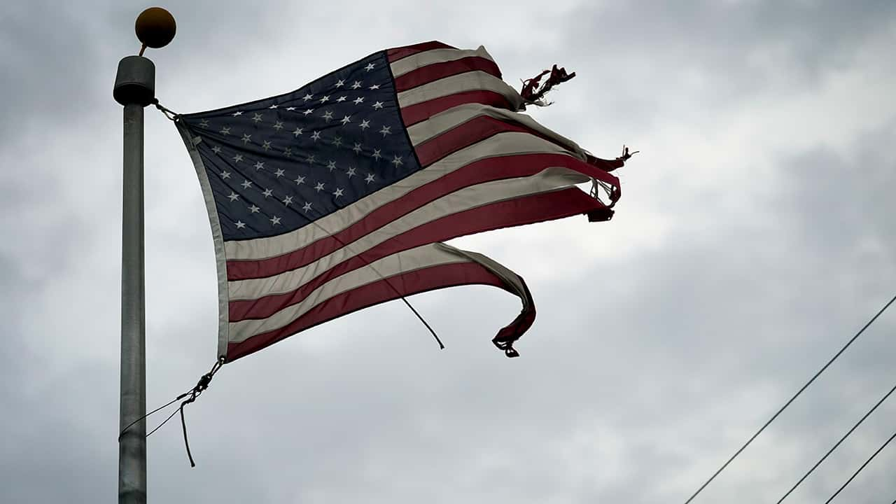 Photo of an American flag