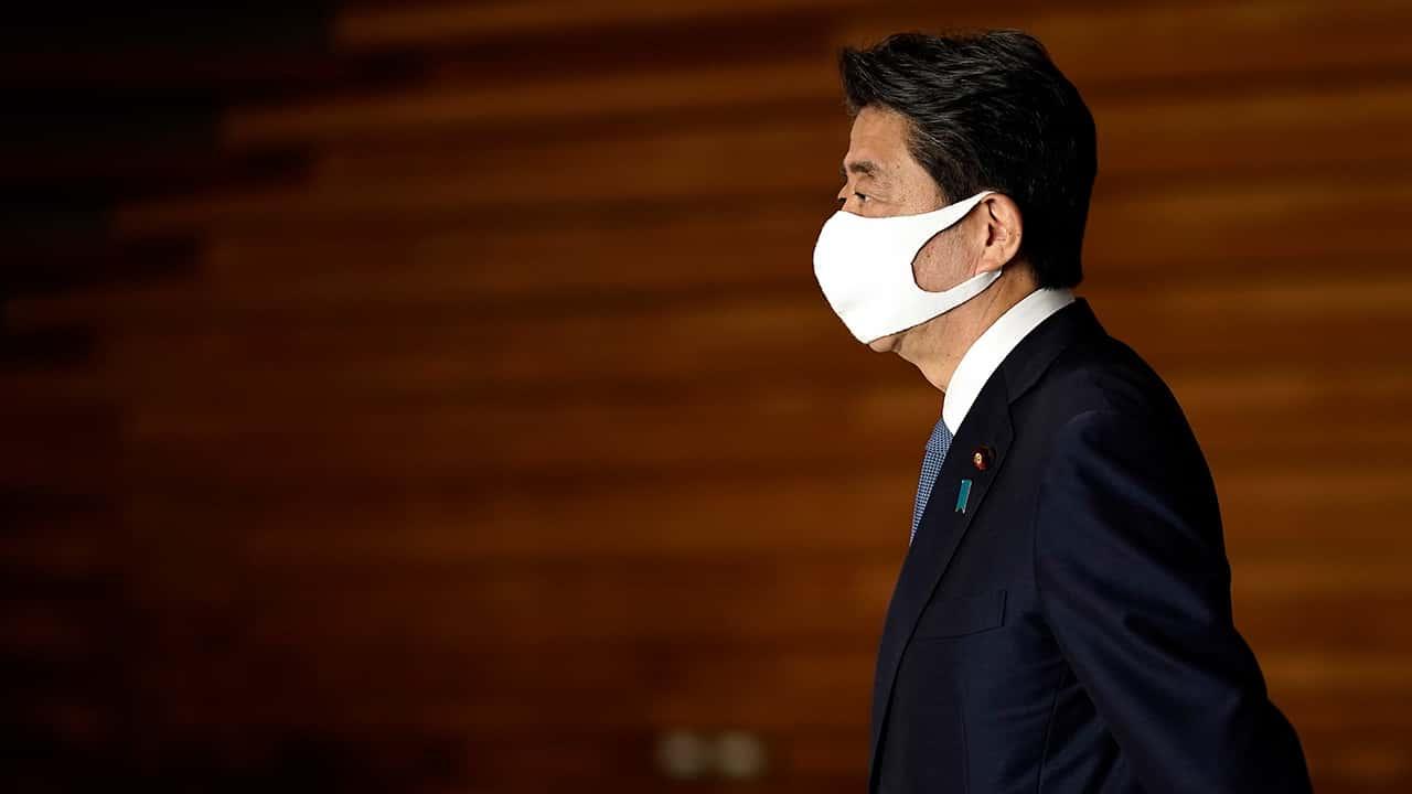 Photo of Japanese Prime Minister Shinzo Abe