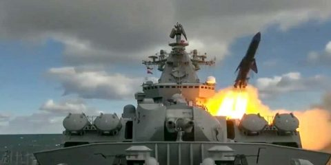Photo of Russia's Varyag missile cruiser