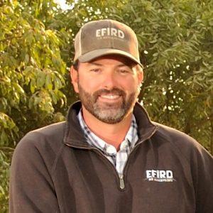 Portrait of Fresno Farm Bureau President Matthew Efird