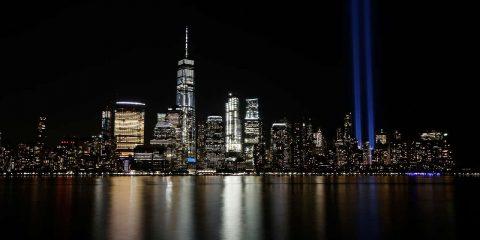 Photo of the New York skyline