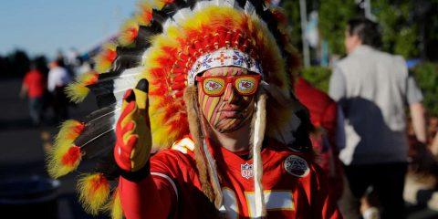Photo of a Chiefs fan