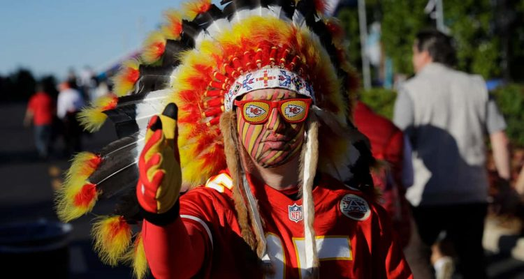 Photo of a Chiefs fan