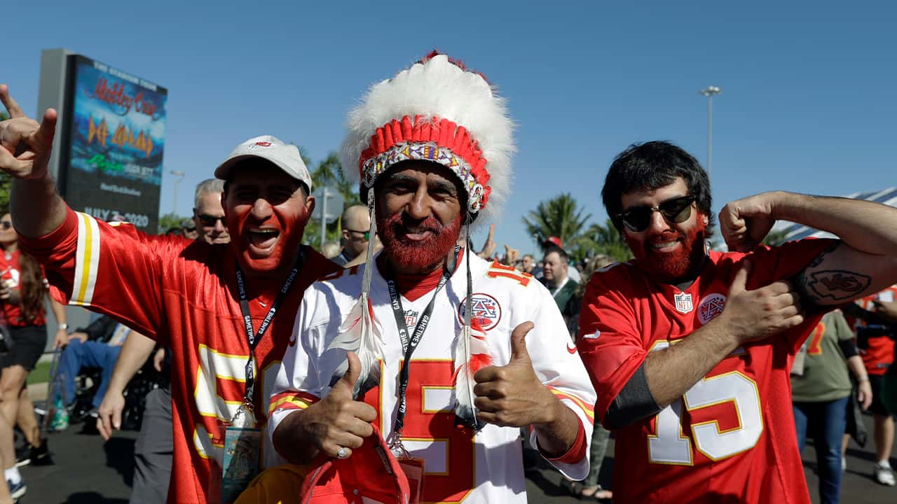Photo of Chiefs fans