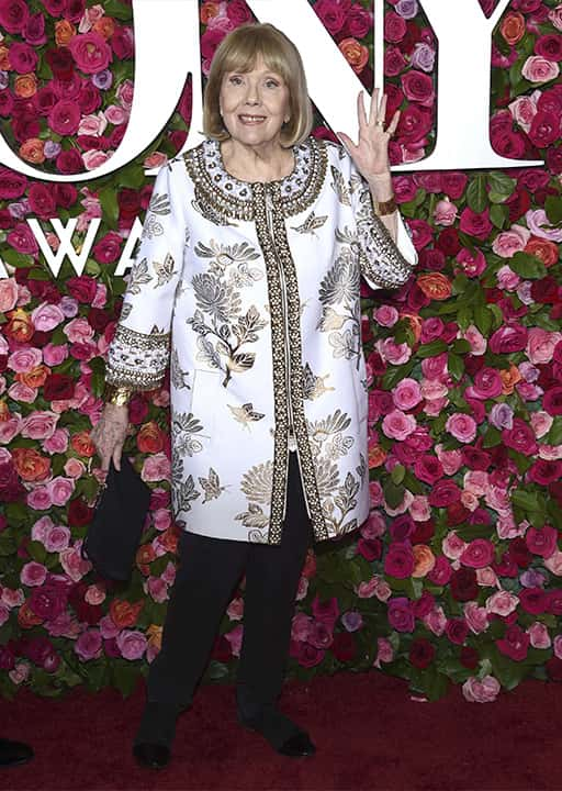 Photo of Diana Rigg in 2018