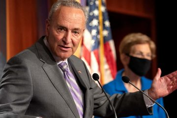 Photo of Senate Minority Leader Sen. Chuck Schumer